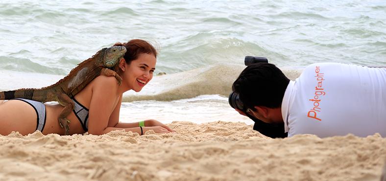 Un fotografo profesional para tu sesión de fotos en el Caribe
