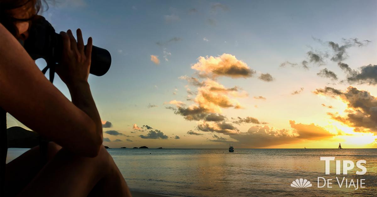Cancún es un excelente escenario para una sesión de fotos