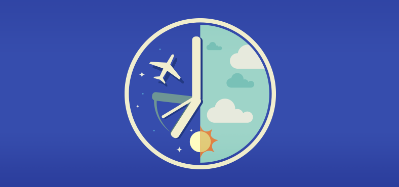 Cómo cuidarse del jet-lag