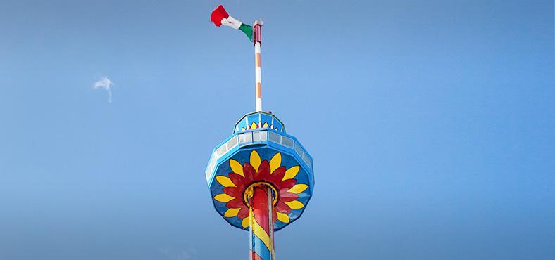 Desde lo más alto, la Torre escénica de Cancún