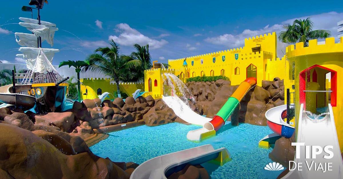 Las increíbles áreas para niños de Crown Paradise Club Cancún