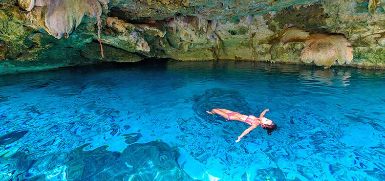 La espectacular ruta de los cenotes de Cancún