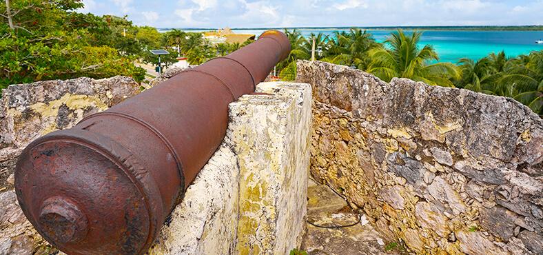 La historia del Fuerte de San Felipe en Bacalar.