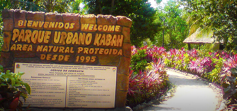 Parque Kabah.