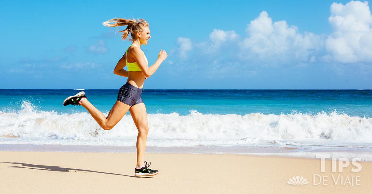 Las mejores rutas para salir a correr en Cancún.