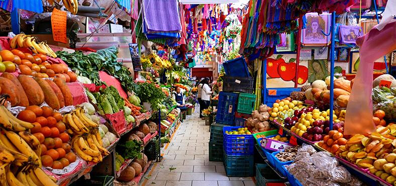 De olores, colores y sabores en Cancún